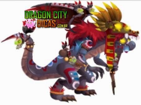 Informações do Dragão Sacerdote Asteca