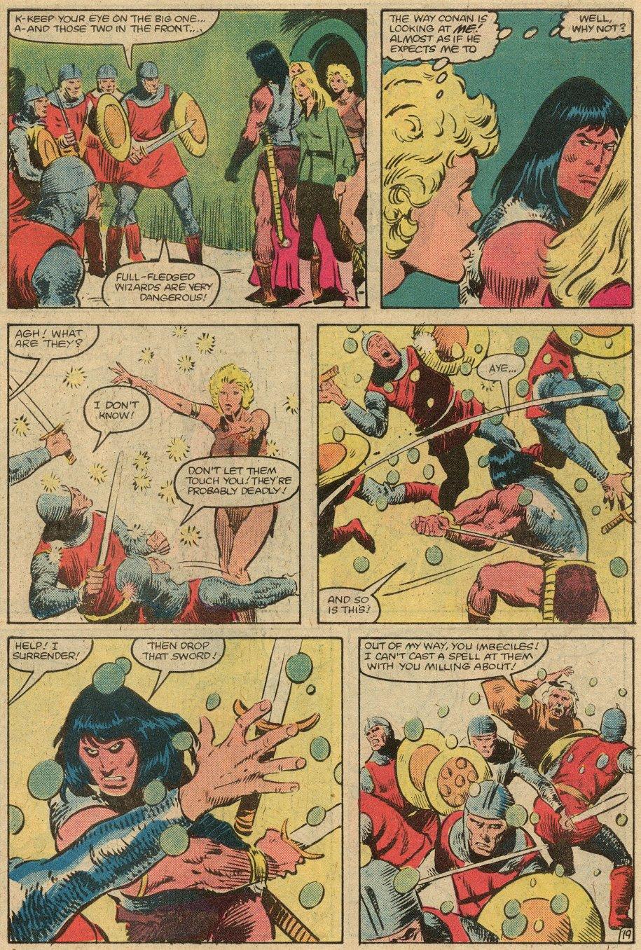 Conan the Barbarian (1970) Issue #146 #158 - English 22