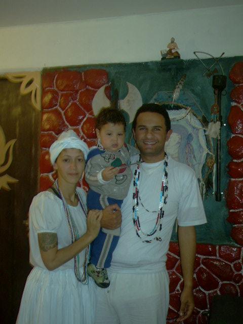 """Fernando(Pai Joaquim D""""angola)visita nossa casa"""