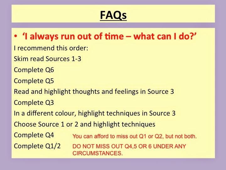 aqa english language coursework examples