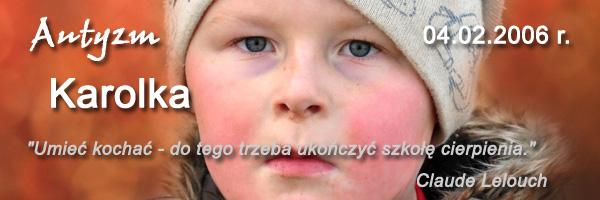 Autyzm Karolka