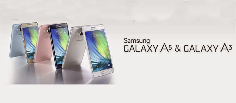 Samsung launches Galaxy A5 and A3