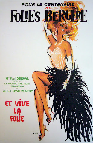Folies Bergere Jacques Darnel, 1969