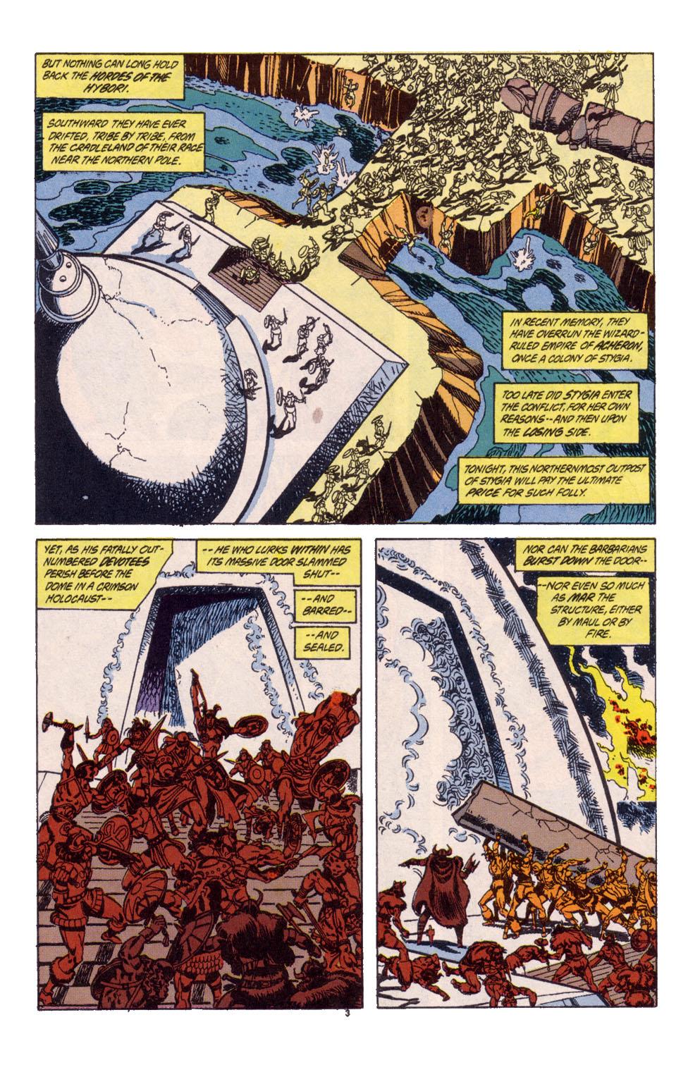 Conan the Barbarian (1970) Issue #247 #259 - English 4