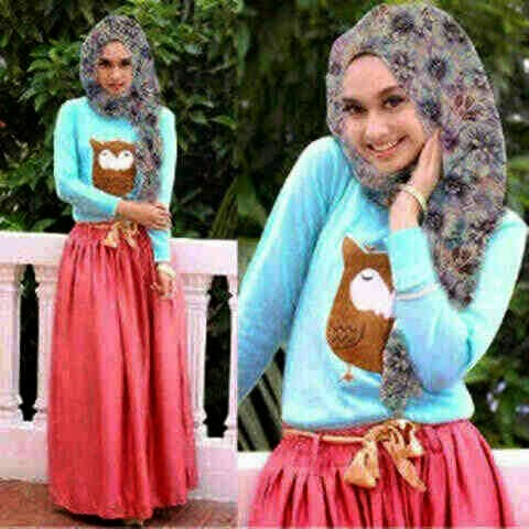 Owl hijab