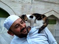 Kucing Liar di Sini Bebas Masuk Masjid