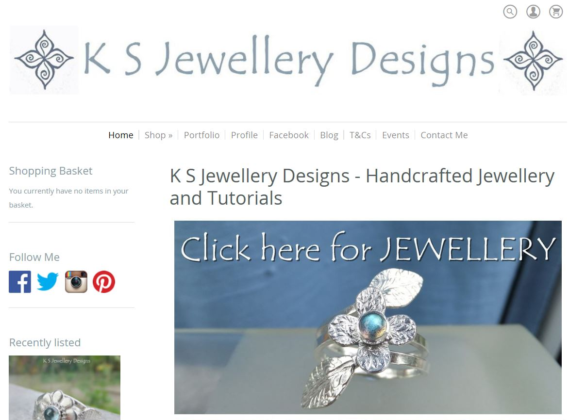 K S Jewellery Designs Website