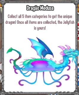 Dragão Medusa
