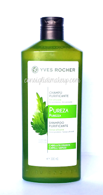 Review: Shampoo Purificante per Capelli Grassi - Yves Rocher