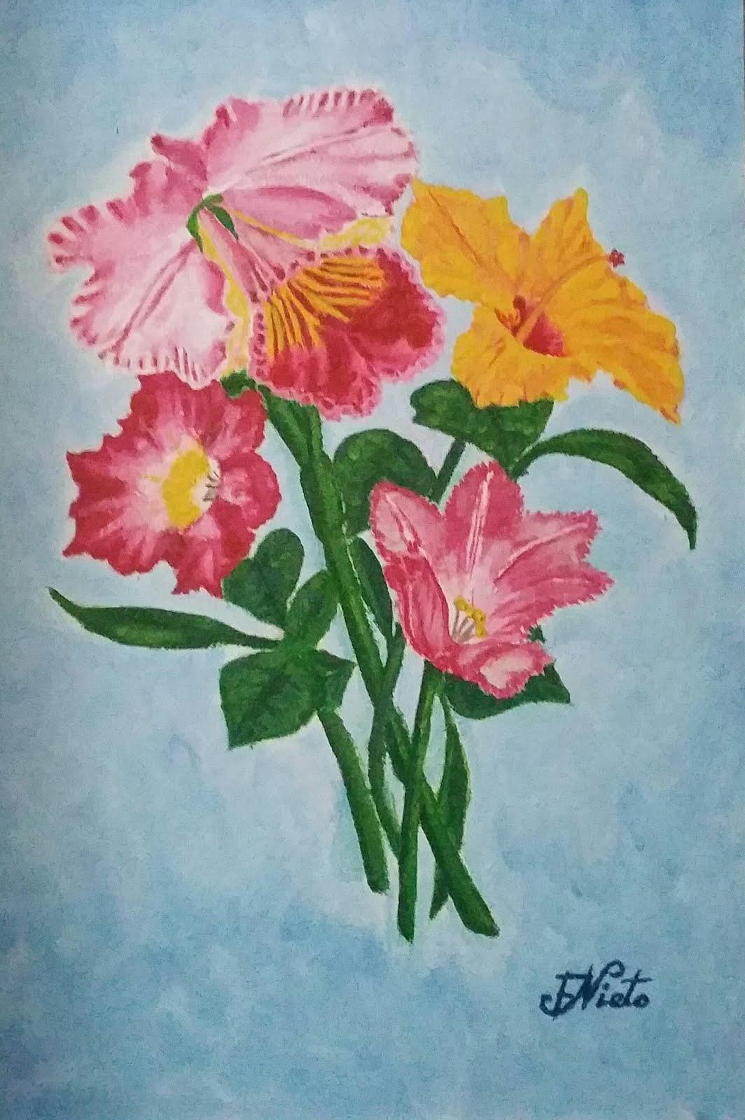 Flores de jardín 2