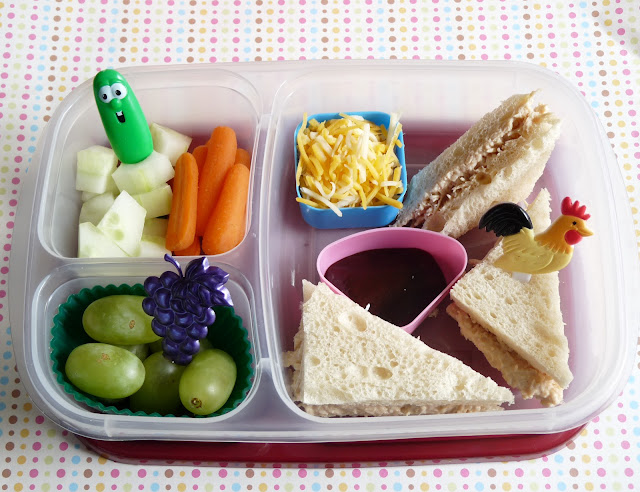 bbq chicken momables ELB bento lunch