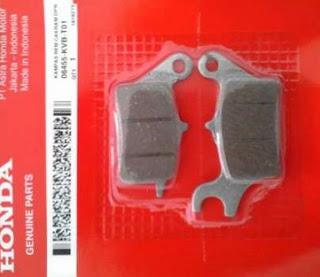 Harga Kampas Rem Depan Honda BeAT atau Vario di Bengkel AHASS