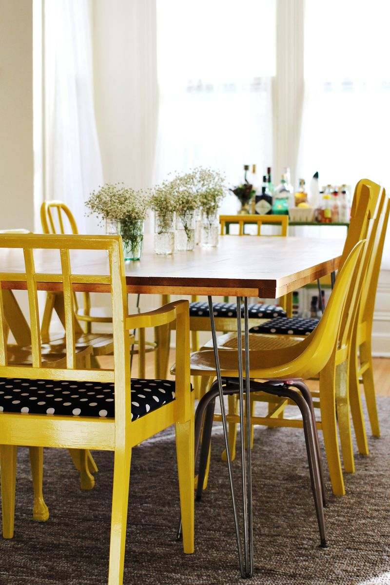 Mismatched Dining Chairs nicolebvintage: mismatched dining rooms