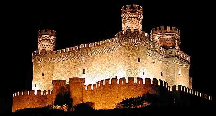 17 castillos de espa a castillo de los mendoza castillo de - Casa en manzanares el real ...