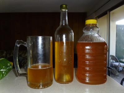 Hard Cider pour