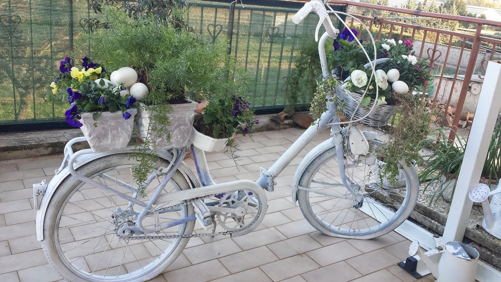 bicicletta portafiori
