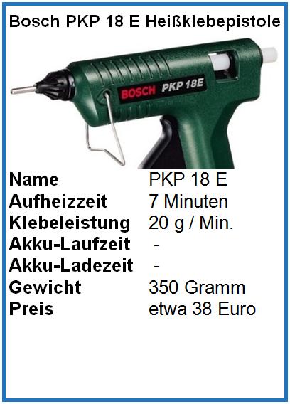 Bosch PKP 18 E test vergleich kaufen