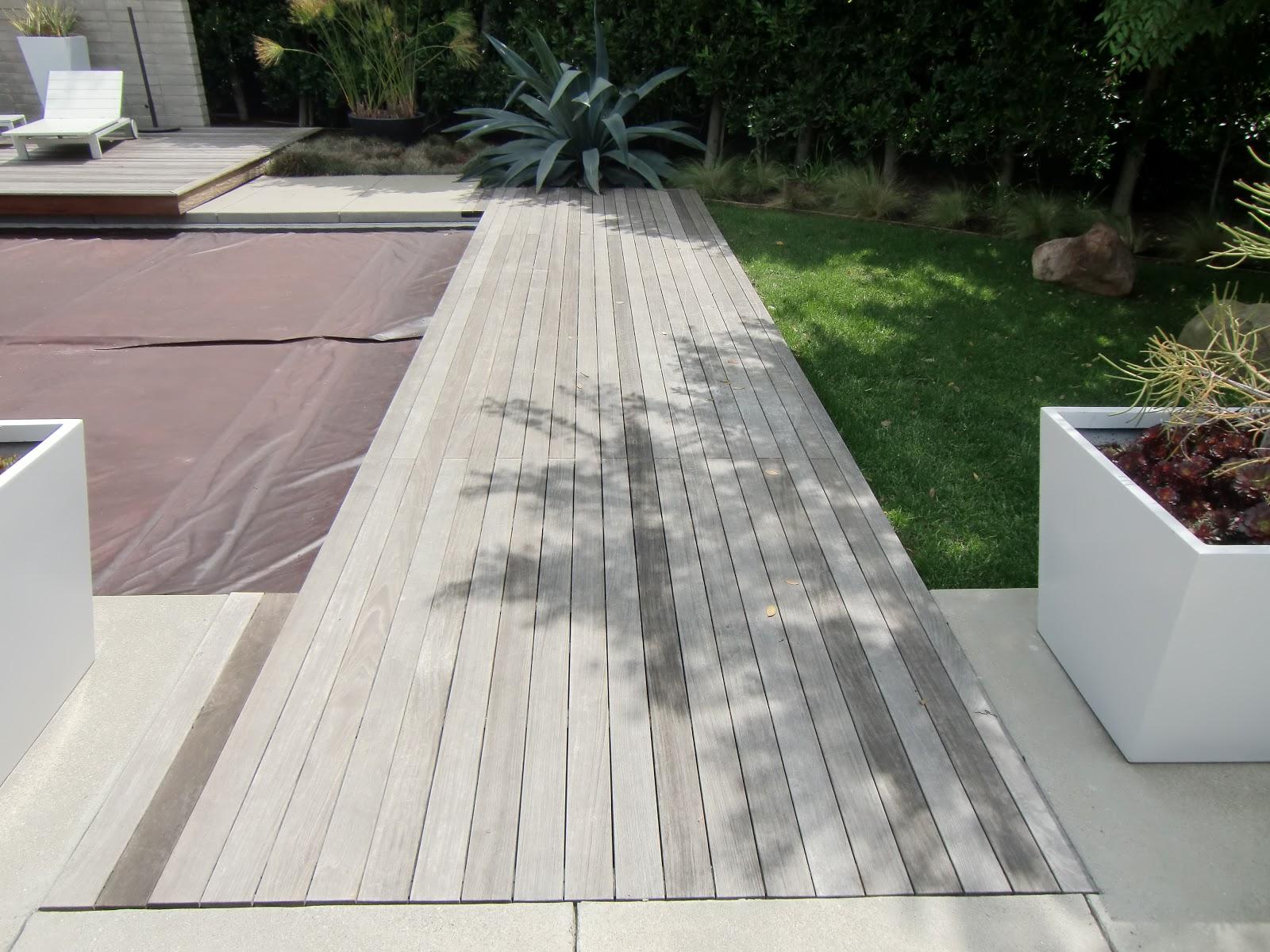 Ipe wood decking deck maintenance restoration and for Ipe decking