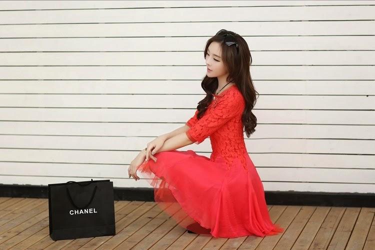 ชุดเดรสเกาหลี