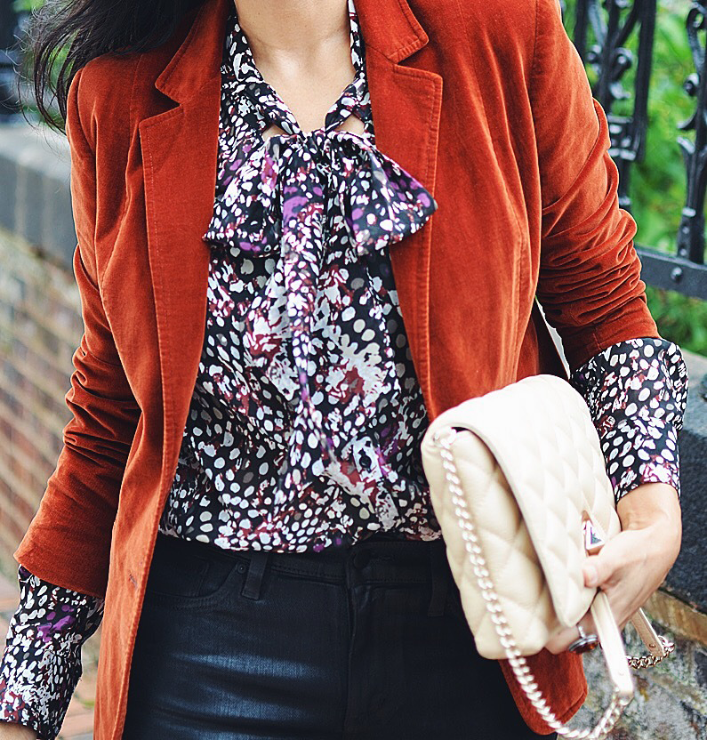 Bow Blouse street style