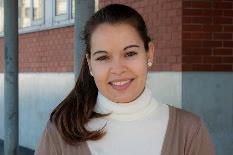 Andreia Almeida, presidente da Associação de Estudantes do Instituto Superior de Contabilidade e Administração de Aveiro