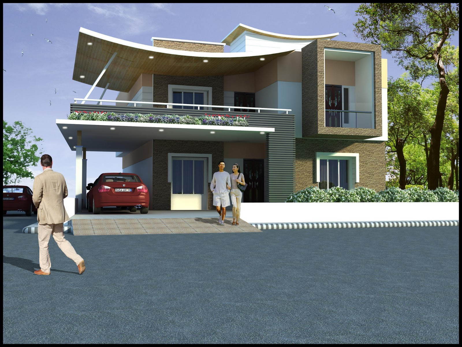 Duplex House Elevation Images | Joy Studio Design Gallery - Best ...