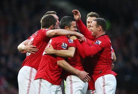 Manchester United Juara Liga Inggris 2012/2013