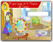 JUEGO DE LA MÁQUINA DEL TIEMPO