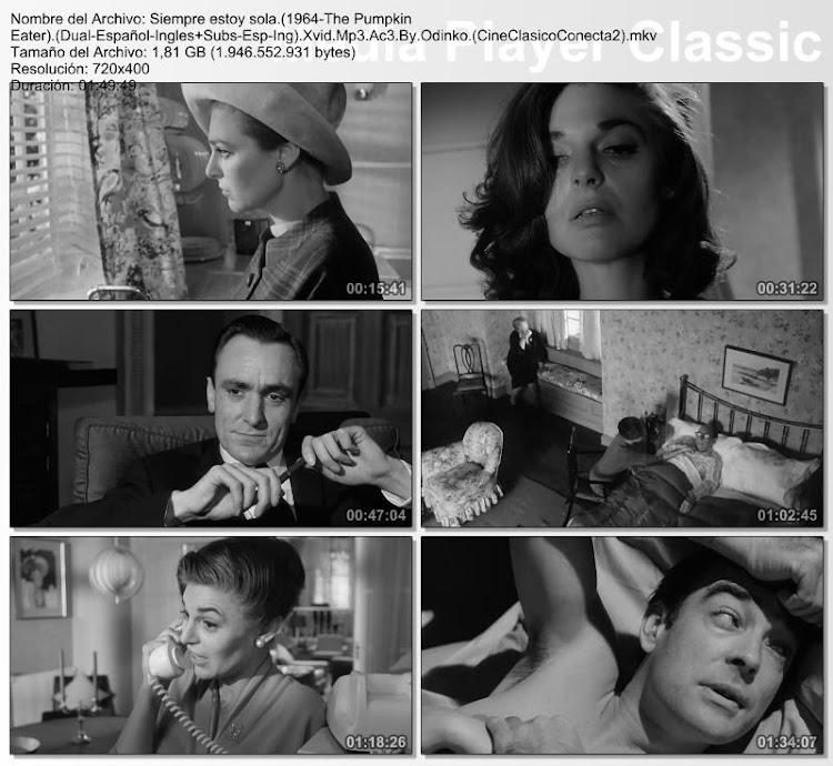 Siempre estoy sola | 1964 | The Pumpkin Eater