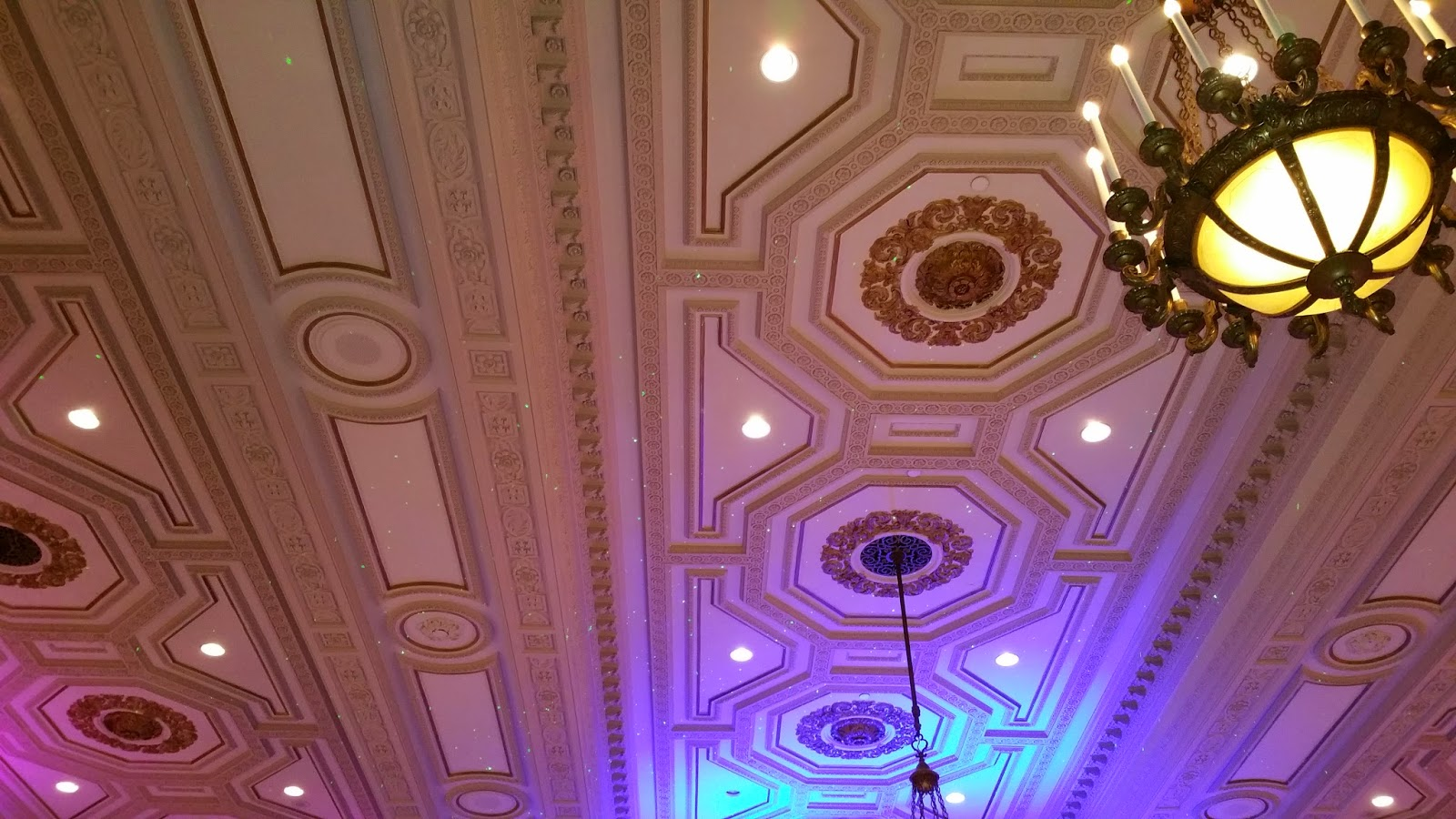 Stars on Ballroom Ceiling