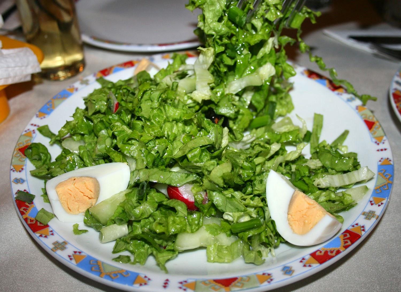 Really tasty green salad