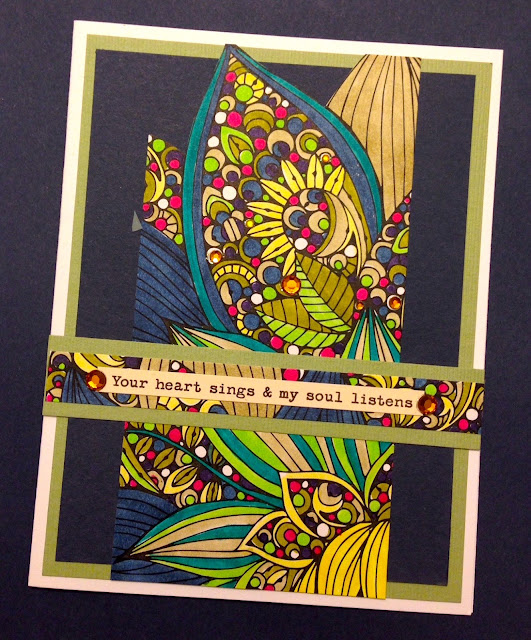 coloring page greeting card lisa fulmer
