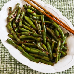 Spicy Sichuan Style Green Beans Recipes — Dishmaps