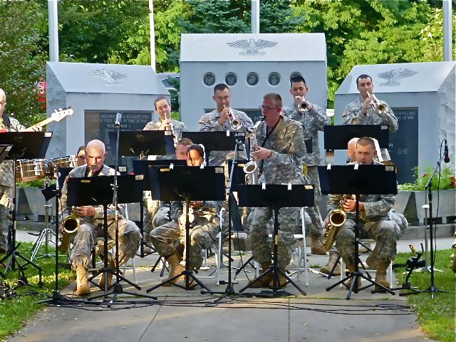 View from the valley army band delights ansonia concert goers army band delights ansonia concert goers malvernweather Choice Image