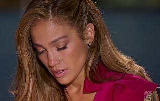 Jennifer Lopez crying
