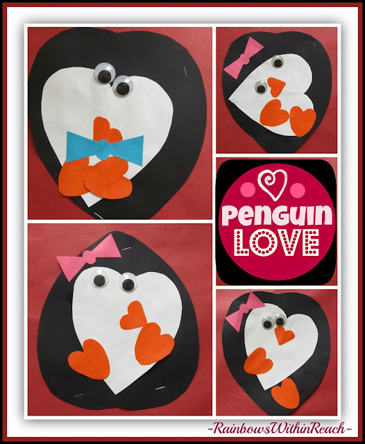 photo of: Penguin Valentines via RainbowsWithinReach