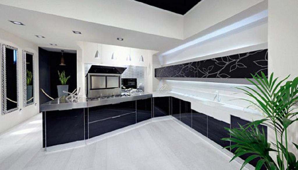 25 ideas para decoraci n cocinas negros decoraci n del for Cocinas profesionales para el hogar