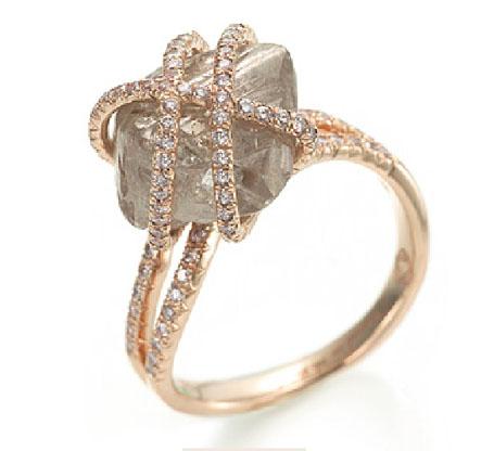 Raw Diamond Rings Canada