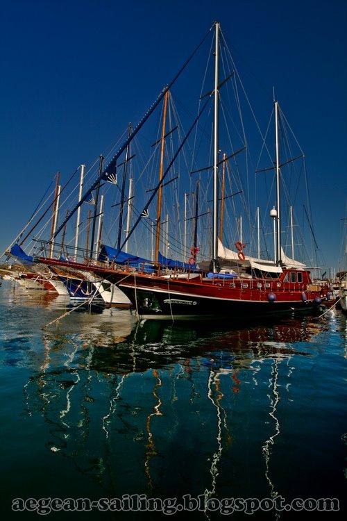 Charter Yachts at Bodrum Marina