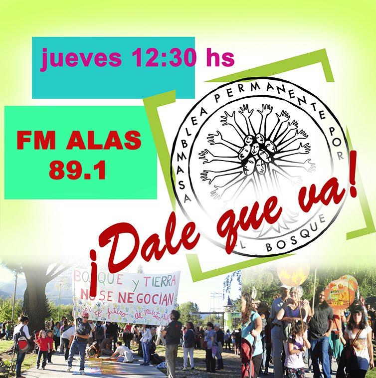 TODOS LOS JUEVES POR FM ALAS 89.1