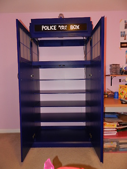 Geek With Curves Five Household Uses For A TARDIS