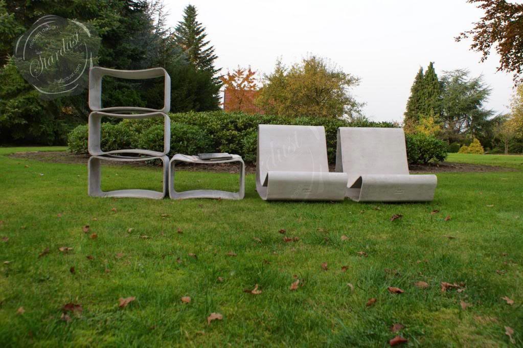 modern interior design Mid Century Modern Outdoor Garden