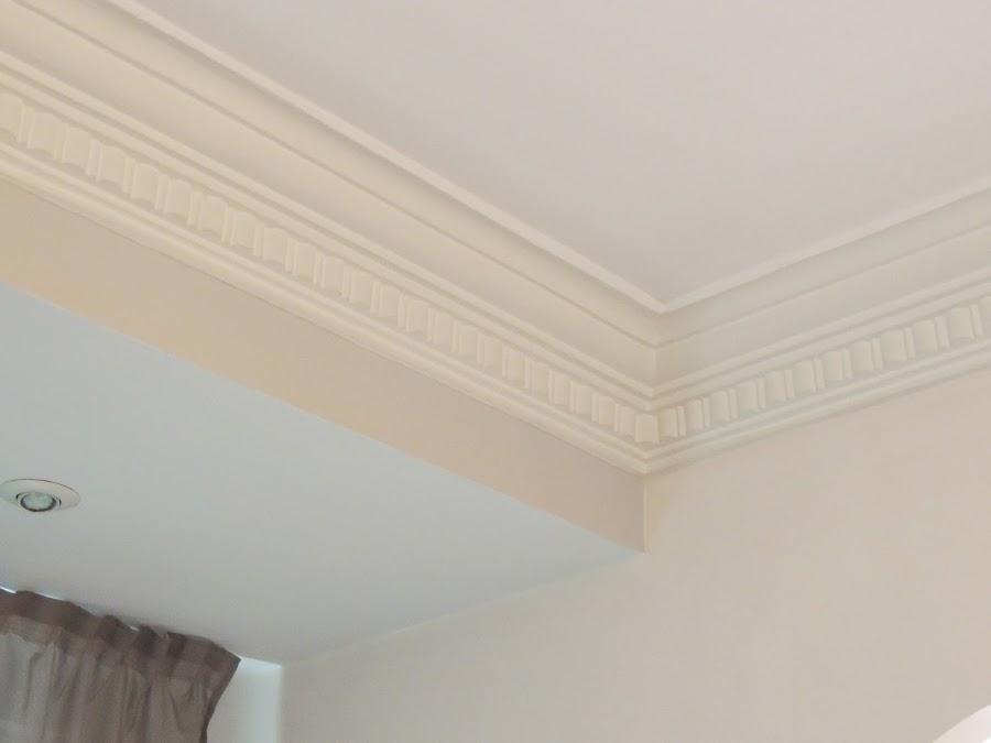 Foto techo de pladur y moldura de escayola de gonzalo for Molduras para techo