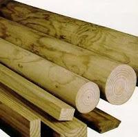madera tablas troncos