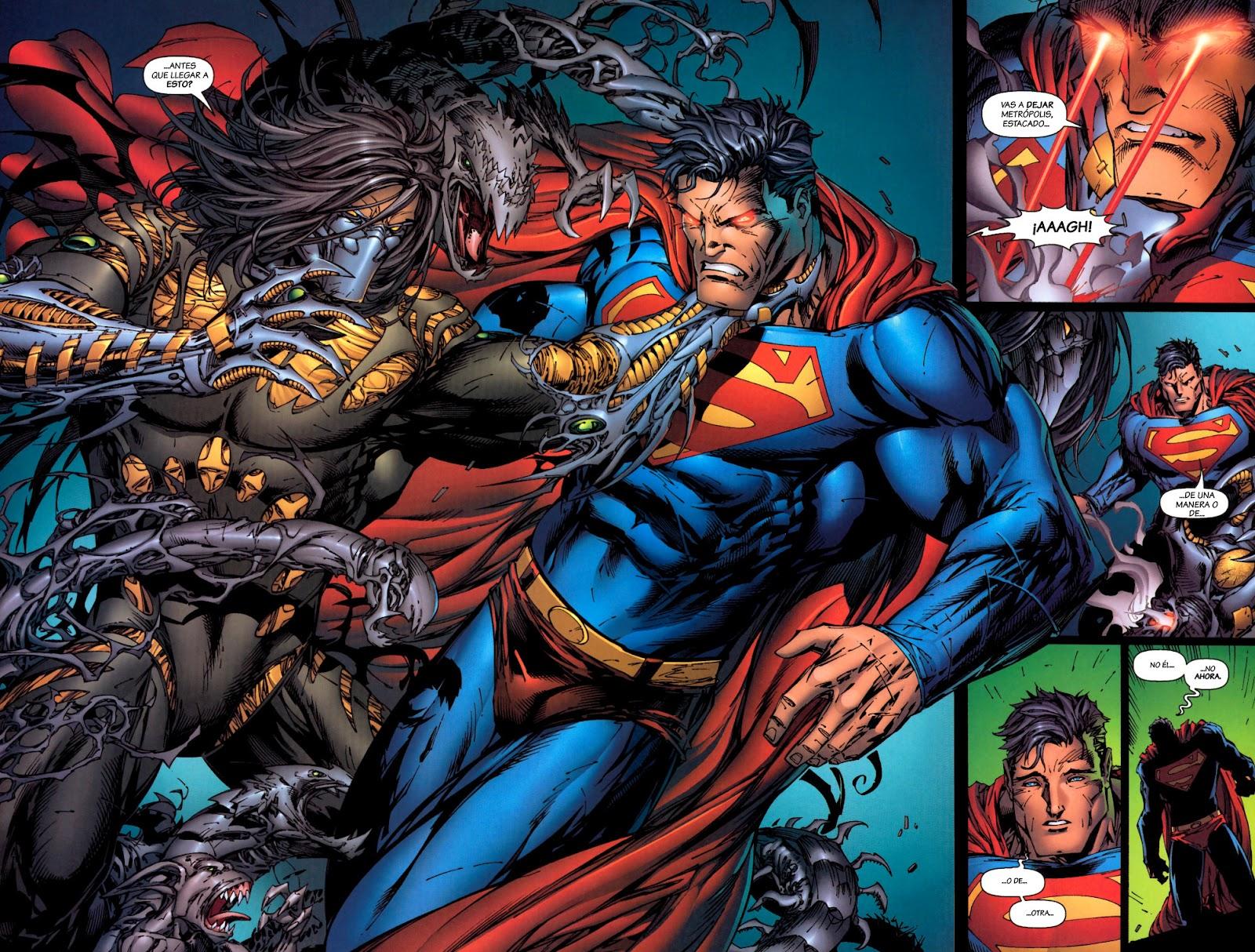 The darkness vs superman
