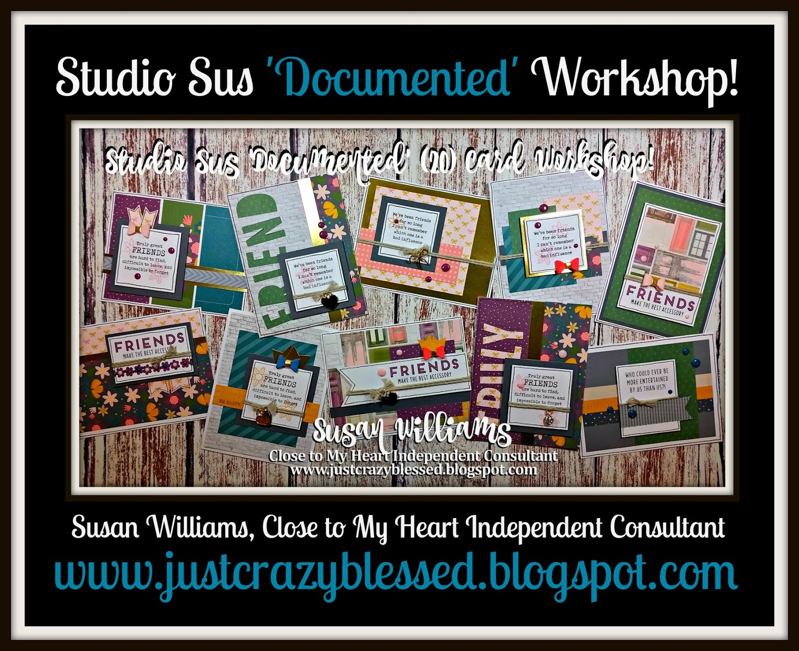 'Documented' Cardmaking Workshop!