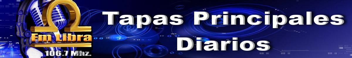 TAPAS DIARIOS EN FM LIBRA 106.7