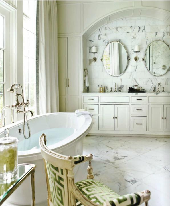 The Granite Gurus Whiteout Wednesday 5 White Kitchens: The Granite Gurus: Whiteout Wednesday: 5 White Bathrooms