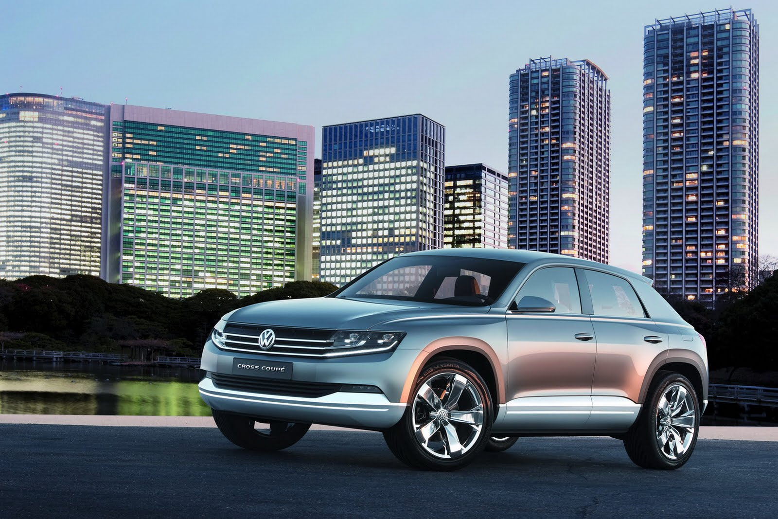 New Volkswagen Cross Coupe Suv Concept