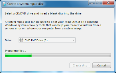 Cara Membuat System Repair Disc Di Windows 7